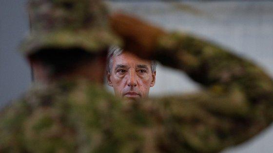O ministro da defesa esteve em Vila Nova de Gaia na cerimónia da 16ª edição do Dia da Defesa Nacional