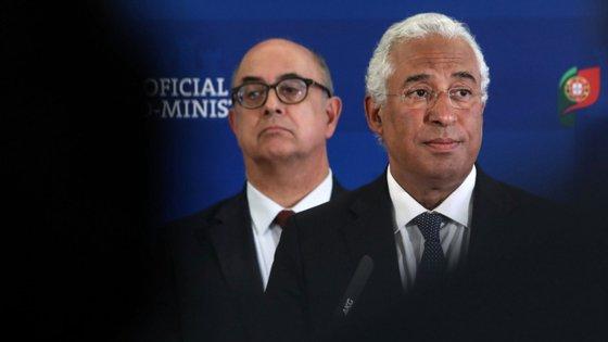 Azeredo Lopes era ministro da Defesa de António Costa quando se deu o furto em Tancos