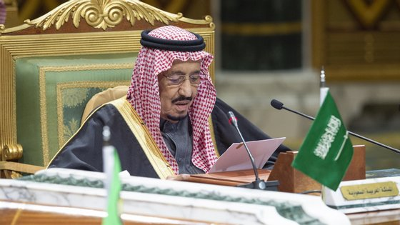O rei da Arábia Saudita, Salman bin Abdulaziz Al-Saud,