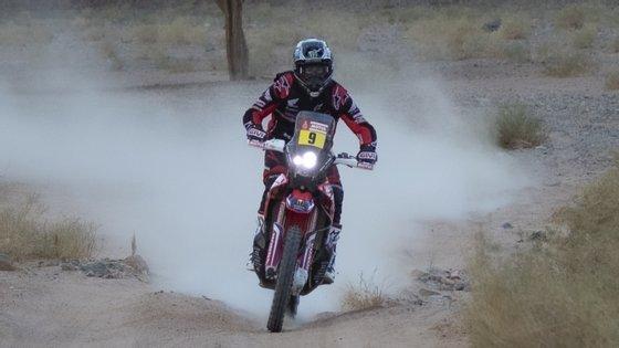 Brabec é líder da classificação das motas com mais de 20 minutos de vantagem