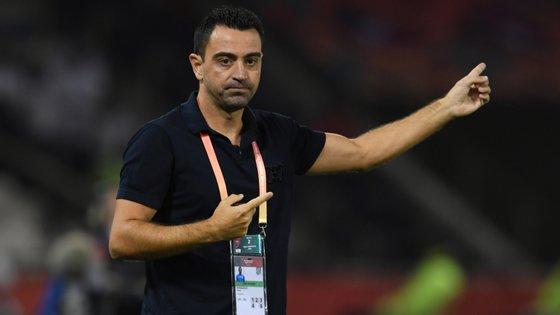 Xavi é o treinador do Al-Sadd, do Qatar, desde maio do ano passado
