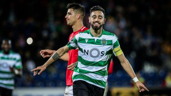 Bruno Fernandes renovou com os leões em novembro de 2019