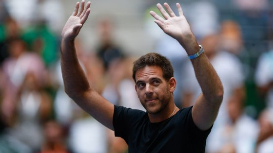 O tenista argentino Juan Martín del Potro ainda não conseguiu recuperar de uma lesão no joelho