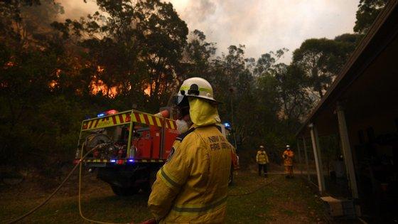 Já ardeu na Austrália uma área maior que a de Portugal