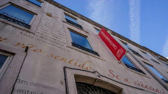 A Casa Fernando Pessoa, em Campo de Ourique, encontra-se fechada para obras