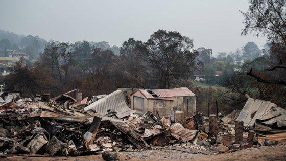 Desde que começaram, os incêndios na Austrália devastaram uma área de mais de oito milhões de hectares