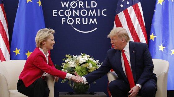Trump ameaçou novas taxas para a importação de carros europeus, o que preocupa particularmente a Alemanha