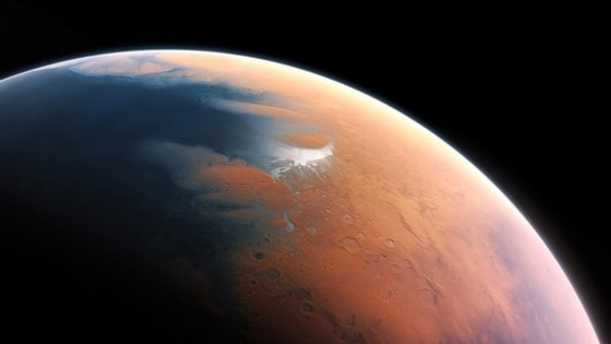 """Os deltas formam-se pela acumulação de sedimentos transportados pelos rios, o que antes sustentava """"a ideia de que, no passado, Marte apresentava condições climáticas mais favoráveis que permitiram a presença de água líquida no planeta"""""""