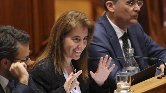 Ana Mendes Godinho, ministra do Trabalho e da Segurança Social, está a ser ouvida no Parlamento no âmbito da discussão na especialidade do Orçamento do Estado para 2020