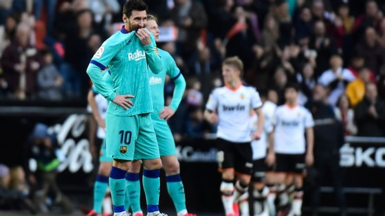 Os catalães podem ficar a três pontos da liderança se o Real Madrid vencer o Valladolid este domingo