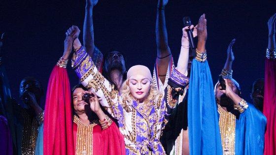 Madonna esteve recentemente em Lisboa, onde deu seis concertos, de um total de oito que estavam agendados
