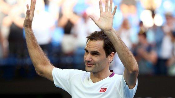 Roger Federer é o número três mundial