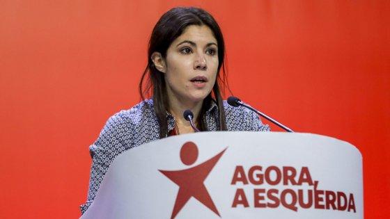 Mariana Mortágua apresentou em conferência de imprensa as propostas de alteração ao OE2020.