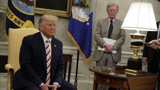 John Bolton foi até setembro do ano passado conselheiro de segurança nacional do Presidente Donald Trump