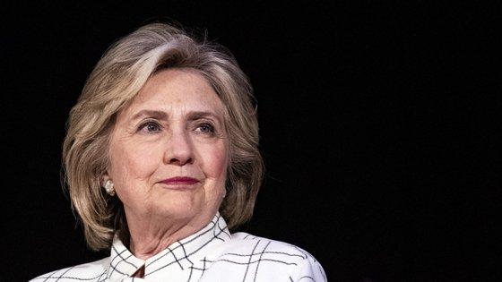 """A conversa com Ellen teve por base o documentário """"Hillary"""", que estreou no Sundance Film Festival e que vai chegar à plataforma de streaming Hulu a 6 de março"""