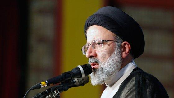 Ebrahim Raisi é o responsável pelo poder judiciário iraniano.  EPA/ABEDIN TAHERKENAREH