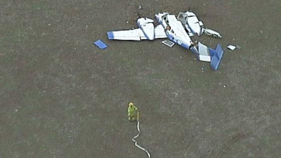 O acidente aconteceu às 11h25 locais (2h25 da madrugada, em Lisboa) desta quarta-feira