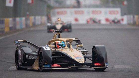 Piloto português venceu na prova E-Prix em Marrocos.