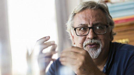 O antigo secretário da Estado na Cultura esteve com Luis Sepúlveda, de quem é amigo, na Póvoa de Varzim