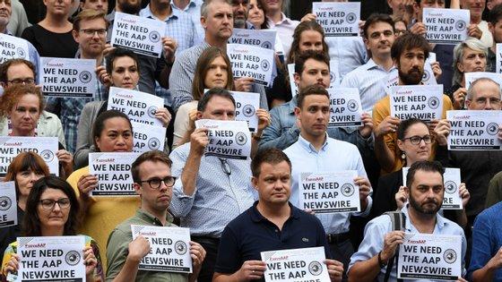 A AAP emprega mais de 170 jornalistas que trabalham em todos os estados e territórios da Austrália