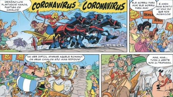"""Na história, """"Coronavírus"""" era o nome de um vilão que trabalhava para os romanos"""