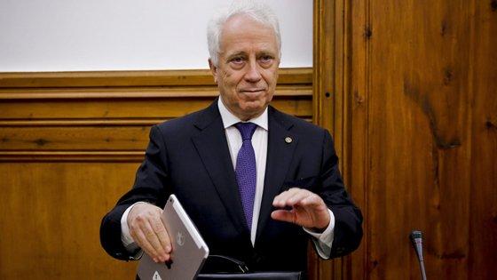 Carlos Costa foi chamado ao parlamento para falar sobre o caso EuroBic.
