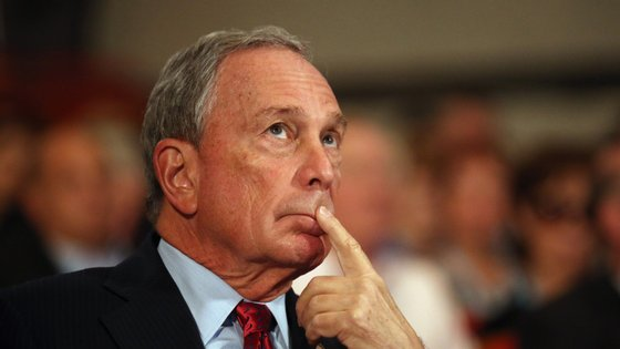 O antigo presidente da câmara de Nova Iorque investiu 500 milhões de dólares na campanha presidencial