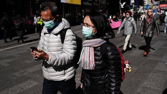 O novo coronavírus já infetou mais de 90 mil pessoas a nível global