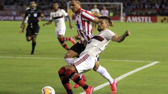 O panamiano Gabriel Torres inaugurou o marcador, aos 55 minutos