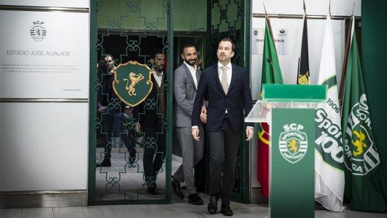 """Frederico Varandas abordou cláusula de dez milhões por Amorim dizendo que às vezes o """"aparentemente caro sai barato"""""""