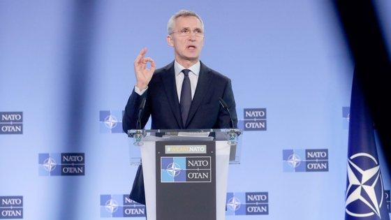 """""""Precisamos de encontrar soluções juntos"""", sublinhou o secretário-geral da NATO"""