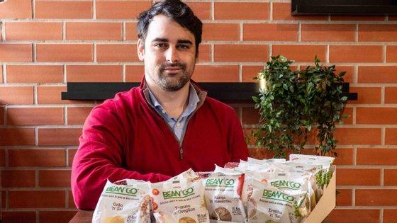 Estudou ciências da nutrição, trabalhou na Nestlé e na Portugal Ventures e, desde 2017, Alexandre Santos é CEO da Snood Foods