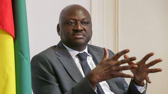 O primeiro-ministro da Guiné-Bissau, Aristides Gomes