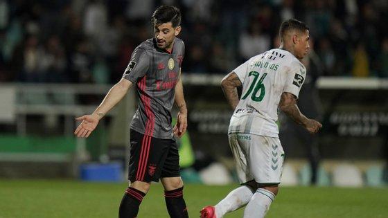 O capitão encarnado marcou o único golo do Benfica no Bonfim