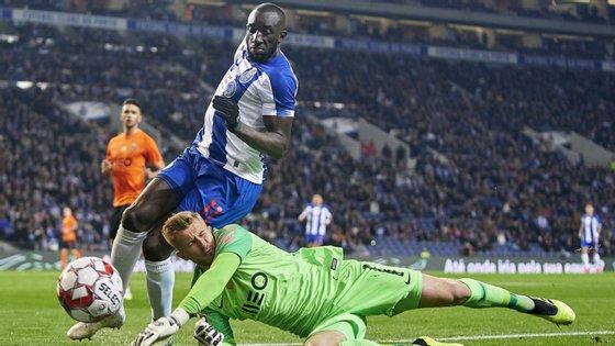 O avançado maliano foi um dos principais inconformados do FC Porto