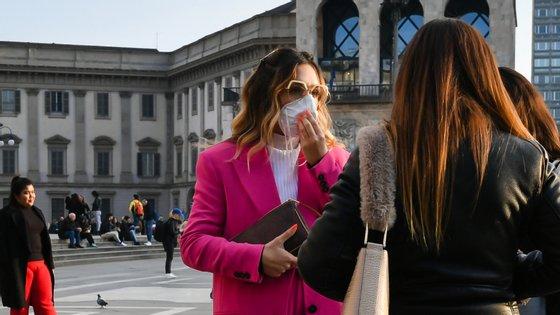 Itália é o quarto país do mundo que, oficialmente, tem mais pessoas infetadas com coronavírus