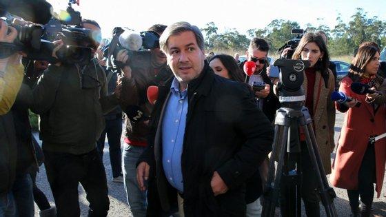 Bruno de Carvalho está a ser julgado no Tribunal do Monsanto