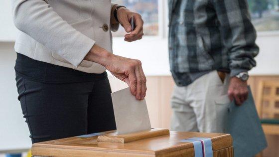 A campanha eleitoral desacelerou nos últimos dias em consequência da pandemia de Covid-19