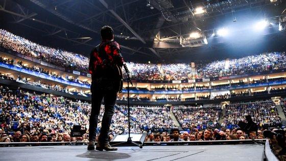 Imagem referente a um concerto da banda Stereophonics a 6 de março, em Londres, ilustrativa do espetáculo deste sábado em Cardiff