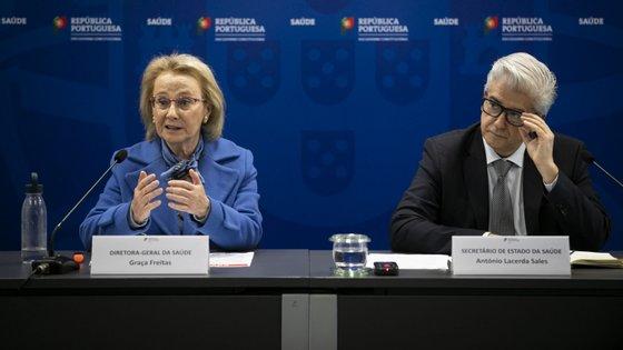 """""""Vamos confiar neste mecanismo"""", pediu Graça Freitas em conferência de imprensa"""