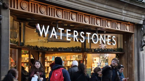 A Waterstones tem mais de 250 livrarias no Reino Unido