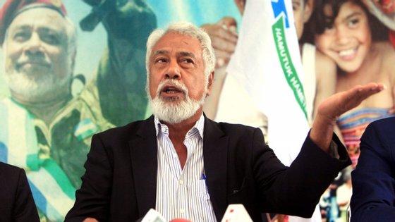 A nova coligação exige que o chefe de Estado aceite o pedido de demissão do atual chefe do governo, Taur Matan Ruak, e abra a porta à formação do próximo executivo