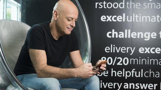 Paulo Rosado é o presidente executivo e fundador da OutSystems