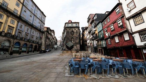 Com o estado de emergência decretado em Portugal devido à Covid-19, grande parte dos estabelecimentos comerciais teve de fechar portas