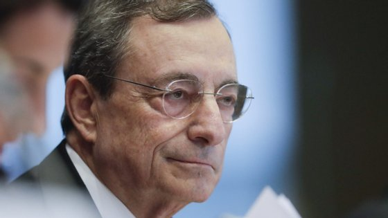 Mario Draghi, presidente do Banco Central Europeu durante os anos da grande crise financeira de 2008