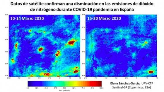 Apesar de os focos de poluição nas grandes cidades ainda serem vísiveis, é notória a diminuição da contaminação do ar