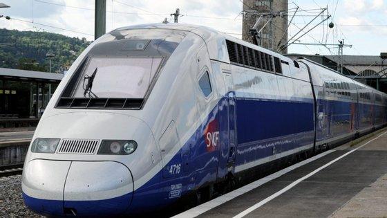 O comboio partiu da estação de Estrasburgo pelas 11h (10h em Lisboa) desta quinta-feira