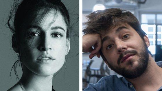 """Carminho, à esquerda, e Salvador Sobral, à direita, vão ambos transmitir miniconcertos — cada um a partir de sua casa — inseridos em festivais internacionais """"online"""""""