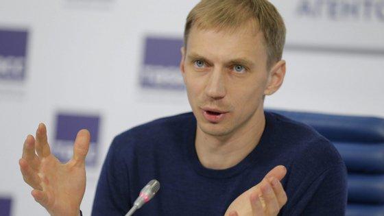 Já retirado, Silnov foi o vice-presidente da Federação Russa de Atletismo até junho