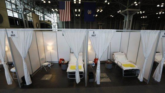 Na cidade de Nova Iorque já morreram 366 pessoas com covid-19